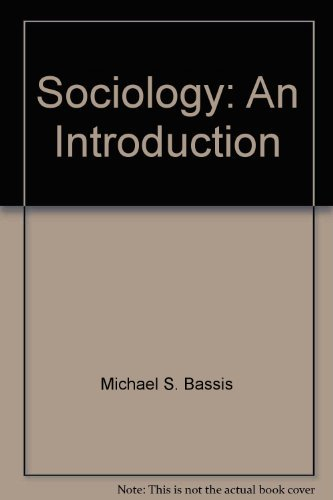9780394329482: Sociology: An introduction