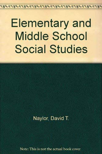 9780394329529: Elementary and Middle School Social Studies