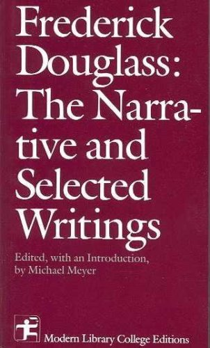 9780394329819: The narrative and selected writings (Modern Library college editions)
