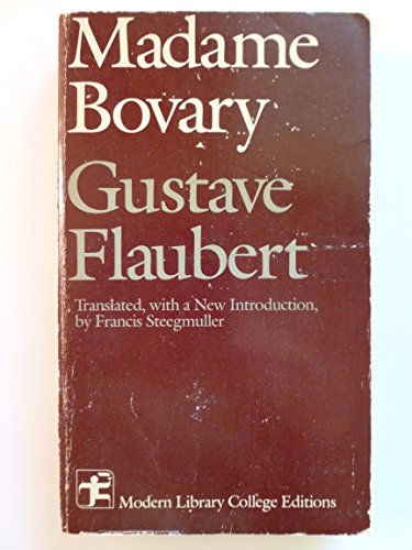 9780394329864: Madame Bovary: Patterns of Provincial Life (Modern Library college editions)