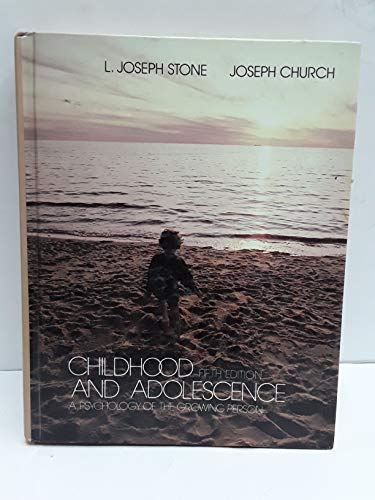 9780394330112: Childhood and Adolescence: A Psychology of the Growing Person