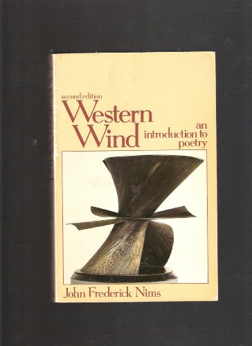 9780394330709: Western Wind, an Introduction to Poetry