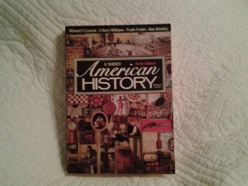 9780394330792: American History: A Survey