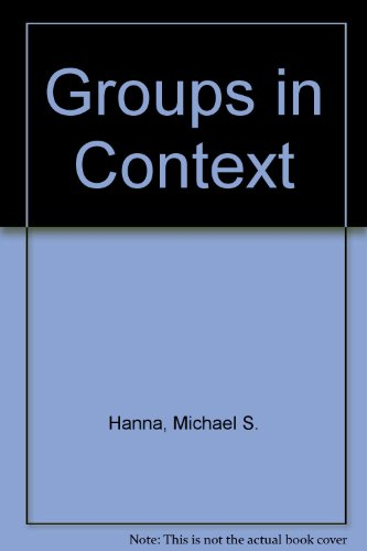 9780394330822: Groups in Context