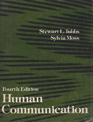 9780394331010: Title: Human communication