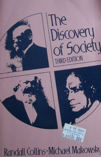 9780394331539: The Discovery of Society