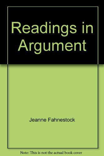 Readings in argument: Fahnestock, Jeanne