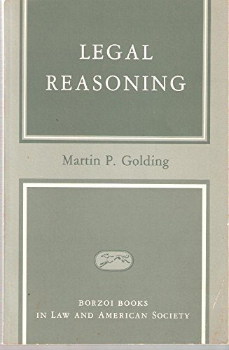 9780394331911: Legal Reasoning