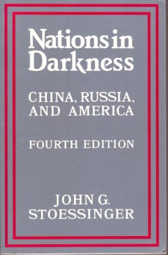 9780394332420: Nations in Darkness--China, Russia, and America