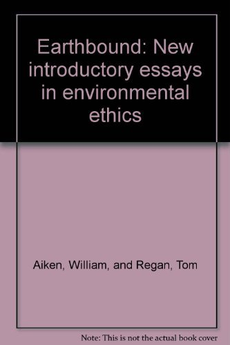 Earthbound: New introductory essays in environmental ethics: Tom Regan