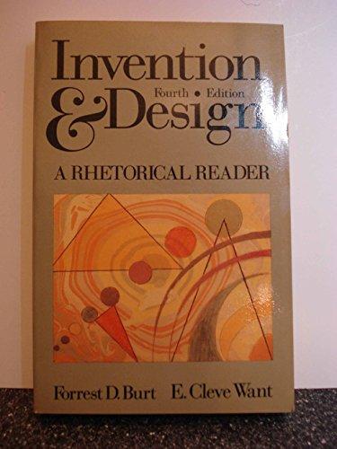 9780394332758: Invention and Design: A Rhetorical Reader