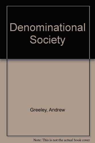 9780394333083: Denominational Society