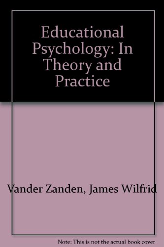 9780394335469: Educational Psychology: In Theory and Practice