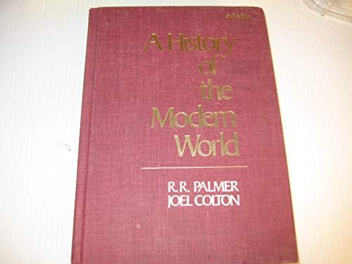9780394335964: A History of the Modern World. 2 Volumes. 6th Edition