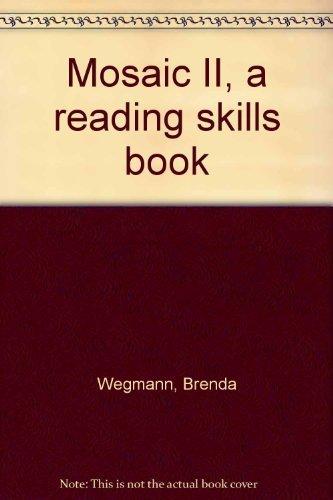 9780394337258: Mosaic II, a reading skills book