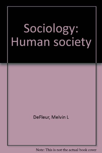 9780394337425: Sociology: Human society