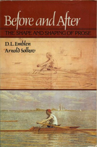Before and after: The shape and shaping of prose: Random House