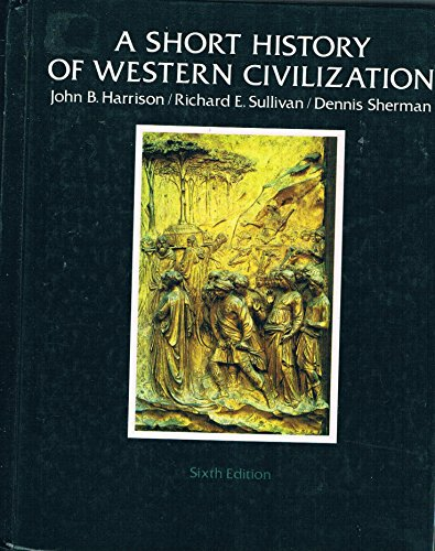 9780394339665: A short history of Western civilization