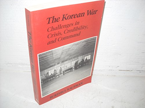 9780394341545: The Korean War: Challenges in crisis, credibility, and command (America in crisis)
