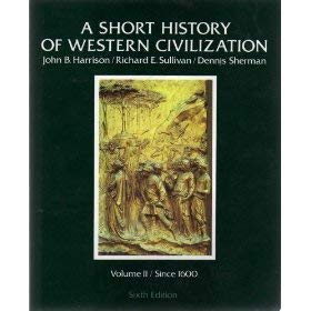 9780394342788: A Short History of Western Civilization