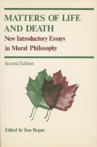 9780394342979: Matters of Life and Death: New Introductory Essays in Moral Philosophy