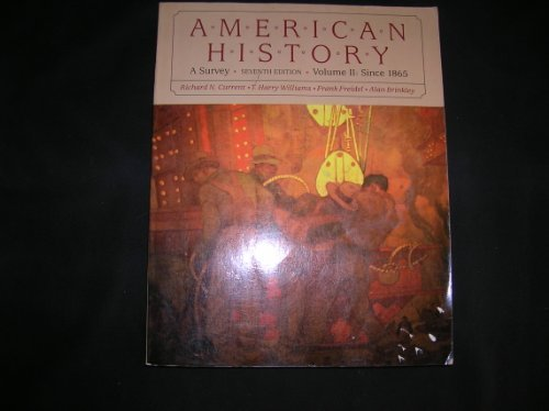 9780394343037: American History: A Survey, Vol. 2: Since 1865