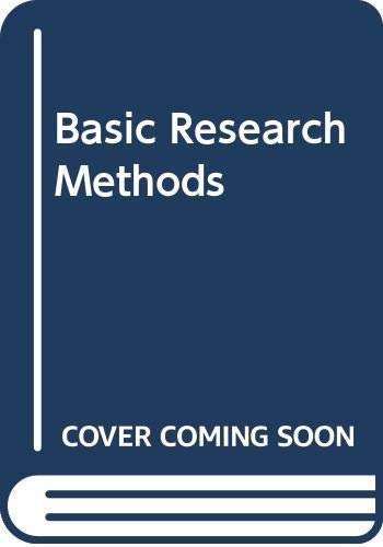9780394347790: Basic Research Methods