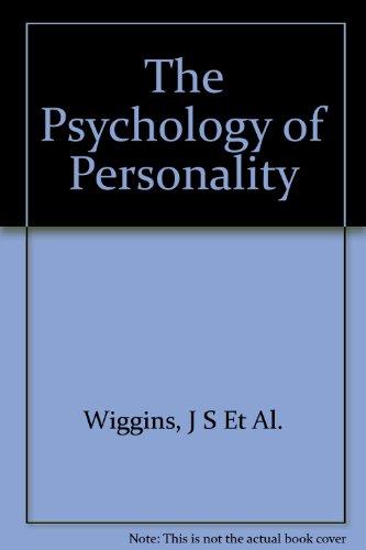 9780394347851: Psychology of Personality