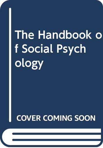 The Handbook of Social Psychology: Gardner Lindzey