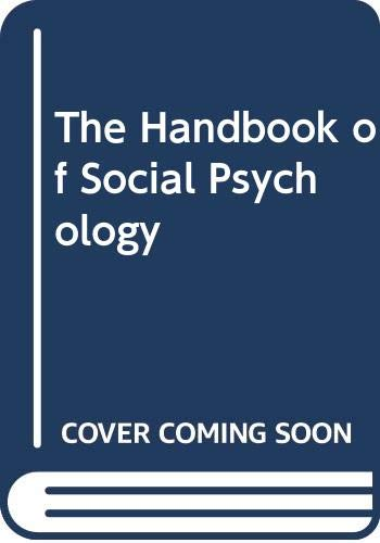 Handbook of Social Psychology (Volume 2): Lindzey, G. and