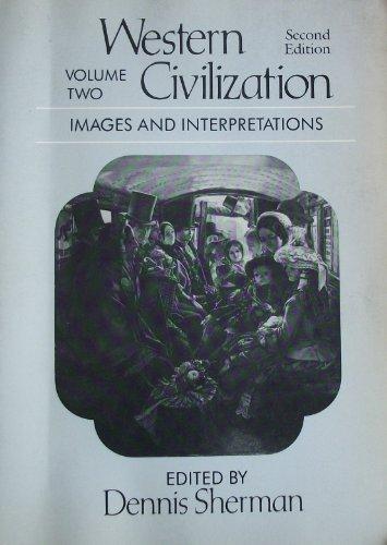 9780394352077: Western civilization, images and interpretations, Volume 2