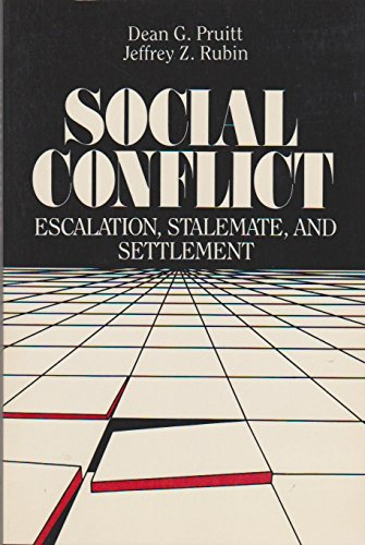 9780394352459: Social Conflicts: Escalation, Stalemate and Settlement (Topics in social psychology)