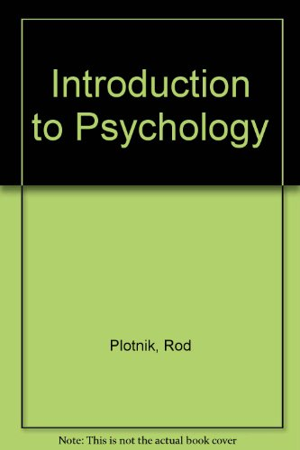 9780394352619: Introduction to Psychology