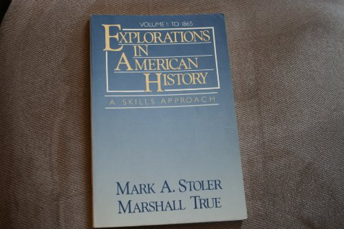 9780394352817: Explorations in American history: A skills approach