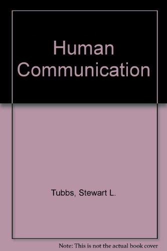 9780394354460: Human Communication