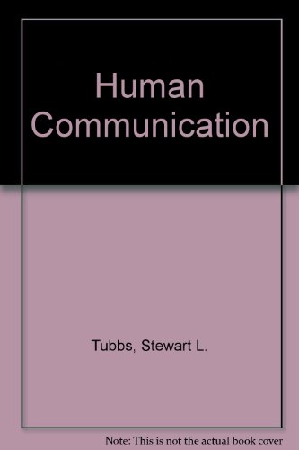 9780394354460: Human Communication