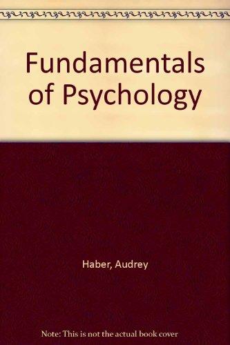 9780394354804: Fundamentals of Psychology