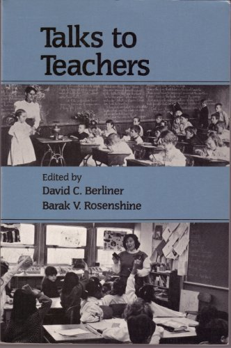 9780394356440: Talks to Teachers: A Festschrift for N.L. Gage