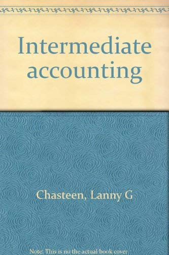9780394358024: Intermediate accounting