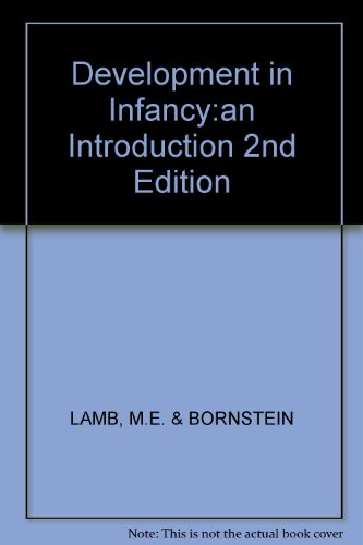 9780394358093: Development in Infancy:an Introduction 2nd Edition