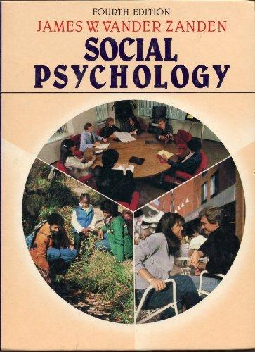 9780394358109: Social Psychology