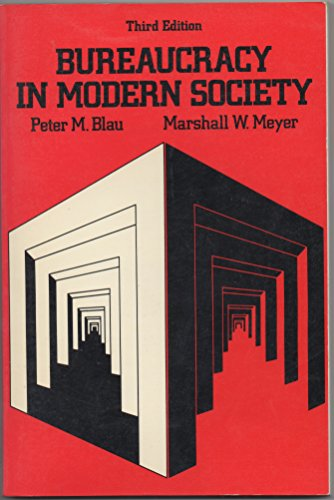 9780394362144: Bureaucracy in Modern Society