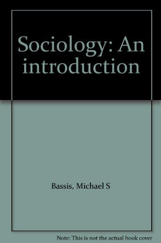 9780394362717: Sociology: An introduction