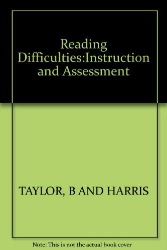 9780394362984: Reading Difficulties:Instruction and Assessment