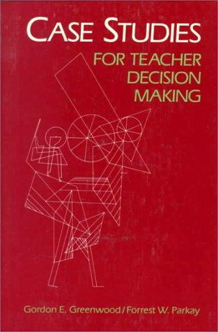 9780394370118: Case studies for teacher decision making