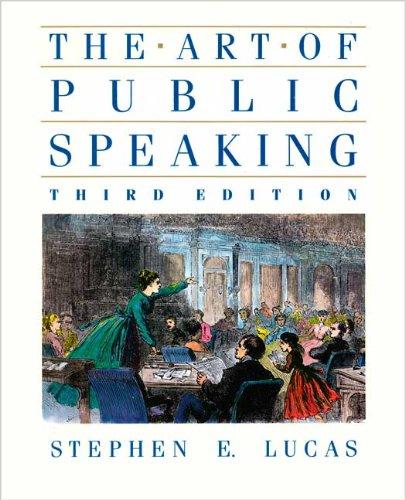 9780394374215: The Art of Public Speaking