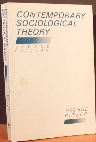 9780394376677: Contemporary Sociological Theory