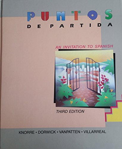 9780394377780: Puntos de partida: An invitation to Spanish