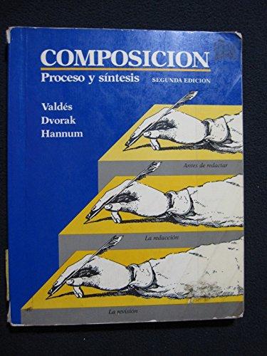 9780394378305: Composicion: Proceso y sintesis Edition: Second
