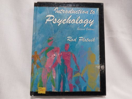 9780394383361: Introduction to psychology
